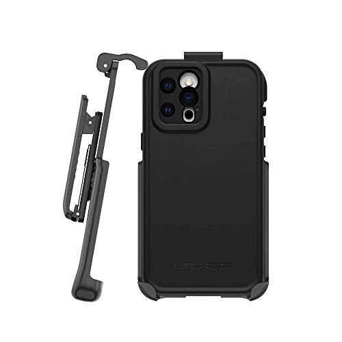 BELTRON Belt Clip Compatible with LifeProof FRE Series Case for iPhone 12 / iPhone 12 Pro (Holster ONLY, case is NOT Included)