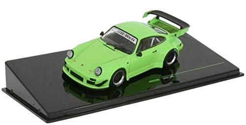 Ixo Porsche 911 RWB RAUH-Welt 930 grün Modellauto 1:43 Models