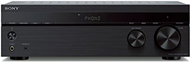 Sony STRDH190 2-ch Home Stereo Receiver with Phono Inputs & Bluetooth Black