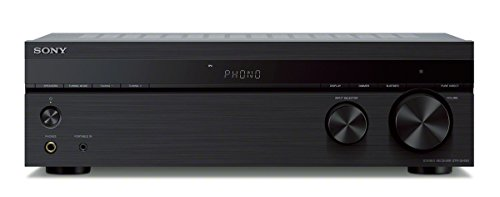 Sony STRDH190 2-ch Stereo Receiver with Phono Inputs and Bluetooth Audio Component, Black