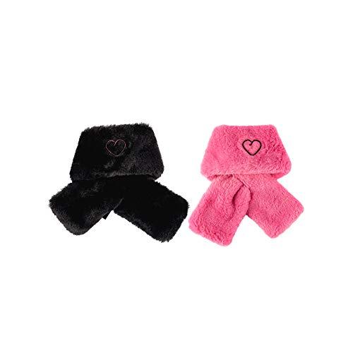 YG Entertainment Schal für Haustiere, Schwarz/Pink