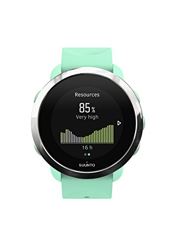 Suunto 3, Sports Watch with Wrist-Based Heart Rate, 24/7 Fitness Activity and Recovery Tracking - Ocean