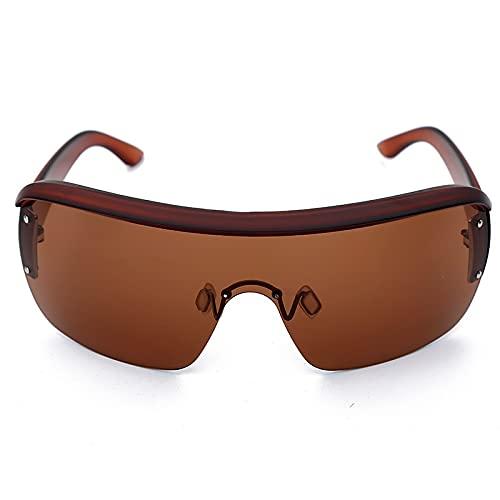 AMFG Ciclismo Al Aire Libre A Prueba De Viento Gafas Net Celebrity Trend Street Shooting Sunglasses (Color : E)
