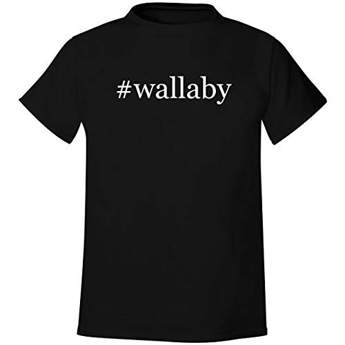 #wallaby - Men's Hashtag Soft & Comfortable T-Shirt, Black, Large