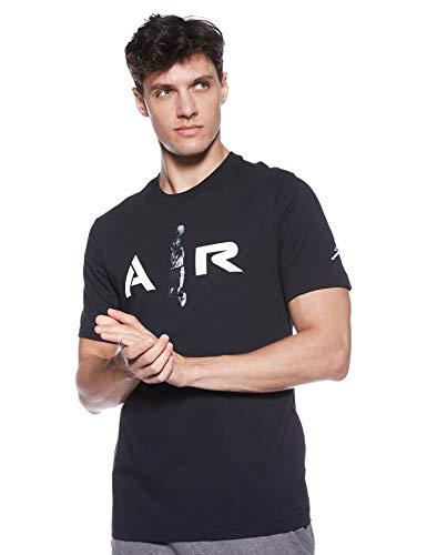 Nike Jordan Air Photo AT0552-010 - Camiseta para Hombre, Color Negro, Hombre, Blanco y Negro, S