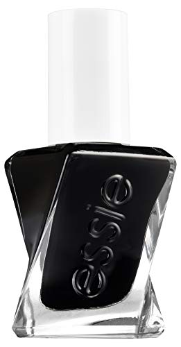 Essie Langanhaltender Nagellack Gel Couture Nr. 514 like it loud, Schwarz, 13.5 ml