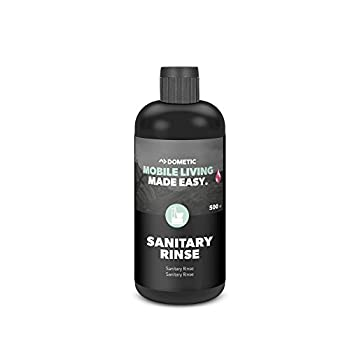 DOMETIC SANITARY RINSE, Liquide d?assainissement pour le réservoir d'eau de rinçage des toilettes, 500ML