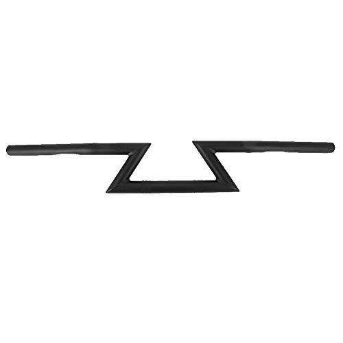 Suuonee Motorfiets stuur, motorfiets Z Bars Universal Modificatie Retro 1 inch accessoire zwart