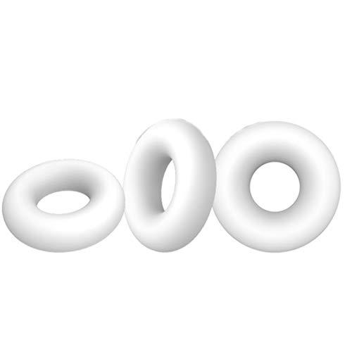 Lukay 3pcs Ring Exercise Enlarger Time Enhancing Toy for Men
