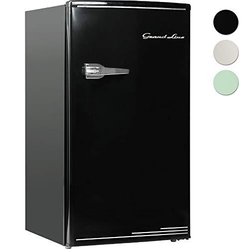 Grand-Line 冷蔵庫 90L 2ドア 直冷式 冷凍冷蔵庫 ライトグリーン LARD-90LG