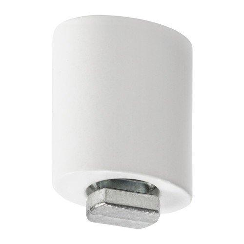 Ikea KVARTAL Deckenbefestigung für Gardinenschienen; in weiß