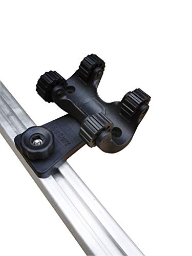 Brocraft Kayak Track Mount Paddle Holder/Kayak Track Paddle Clip/Paddle Holder Clips for Kayak