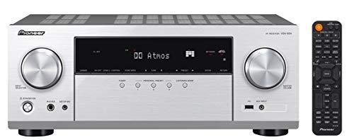 Pioneer VSX-934 7.2-Kanal Netzwerk AV Receiver (7x160 Watt, Dolby Atmos, DTS:X, Dolby Atmos Height Virtualizer, Sonos, Zone 2, AirPlay 2, Bluetooth, USB), Silber