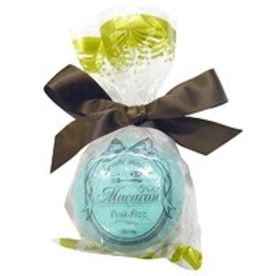 加速度乗り出す帰るスウィーツメゾン プチマカロンフィズ「ターコイズ」12個セット 香り豊かなグリーンティの香り