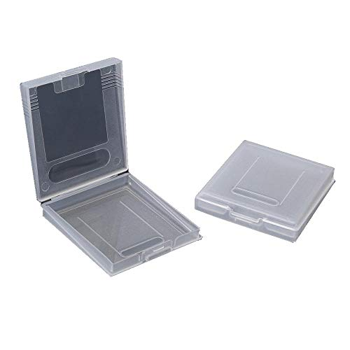 12 pcs Gameboy Color Game Case for GBC GB GBP Cartridge Holder Accessories Storage Dust Cover Case