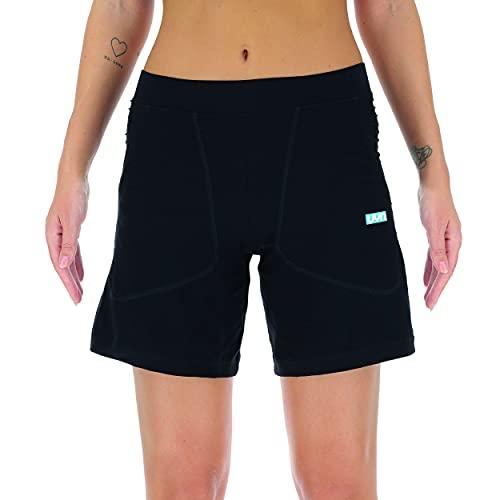 UYN Lady City Running OW Pant Short Pantalones para Lluvia, Pizarra, Extra-Small para Hombre