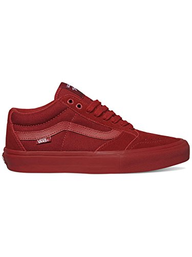 Vans Men's TNT Sg Red Dahlia Ankle-High Suede Skateboarding Shoe - 7M