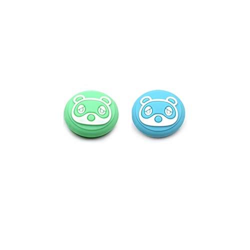 GOW 2 tappi per controller compatibili con Nintendo Switch & Light – Animal Crossing (verde/blu)
