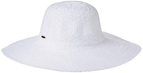 Coolibar Damen Sonnenhut UV-Schutz 50, Weiß, OneSize