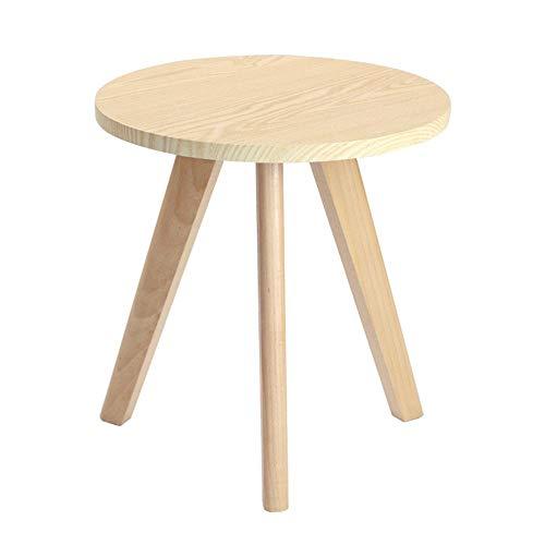 ZXJUAN Houten bijzettafel, dubbele tafel, eettafel, sofa, koffie, casual, rechthoekig, bijzettafel, basic decoratie voor de woonkamer