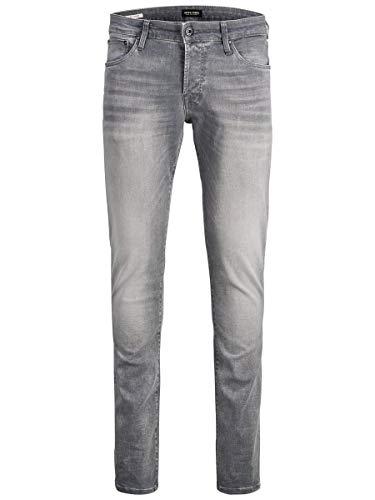 JACK & JONES Male Slim Fit Jeans Glenn ICON JJ 257 50SPS 3332Grey Denim