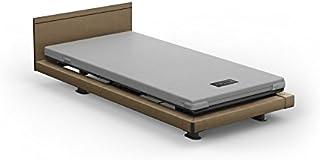 パラマウントベッド インタイム/INTIME 1000 電動ベッド+マットレス+設置付き 3モーター(背+足+高さ) ハリウッドスタイル スクエア カルムライトマットレス 日本製 (ブラウン)