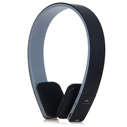 KK Timo BQ - 618 Wireless Bluetooth V4.1 + EDR Auricular Manos Libres con navegación Inteligente por Voz para celulares Tableta (Color : Black)