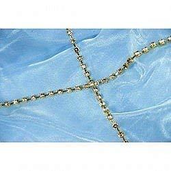 Club green diamant op zilveren ketting, zilver