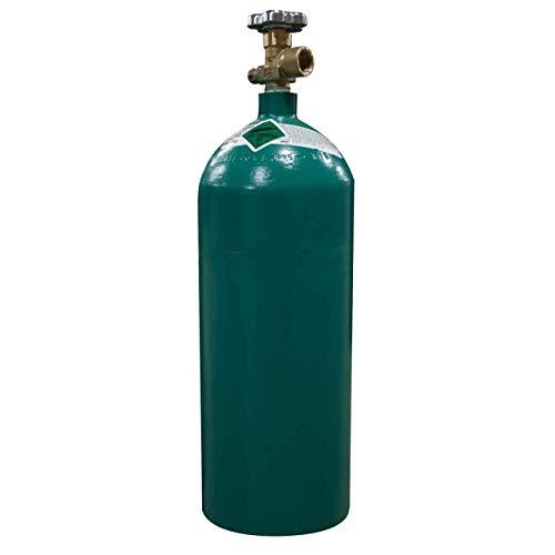 40 cu/ft 75% Argon 25% CO2 Welding Gas Cylinder Tank CGA 580 - FULL