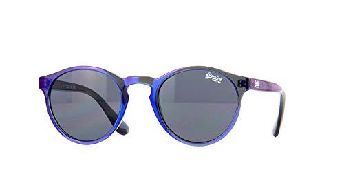 Superdry Saratogalux-185 - Gafas de sol, color azul y morado
