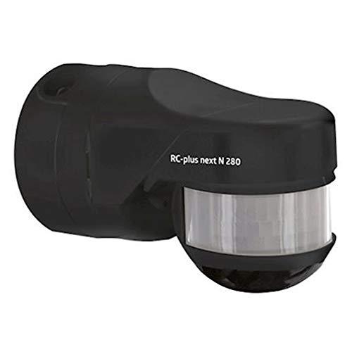 Bewegungsmelder RC-Plus Next N 280 mit Erfassungsbereich 280° und Einbruchschutz - VERSION AGGIORNATA (Schwarz)