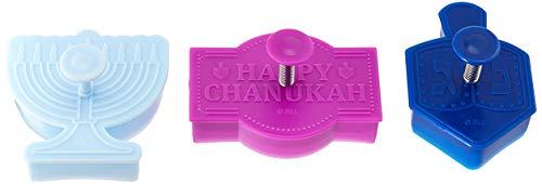 Rite Lite Chanukah Stamp Cookie Cutters Hanukkah, Multi Colored