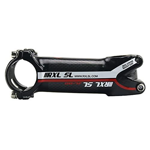 RXL SL potencias MTB Carbono 31.8mm 3K Brillante Rojo Fibra de Carbon+Aleación de Aluminio Potencia Bicicleta Carretera 60mm