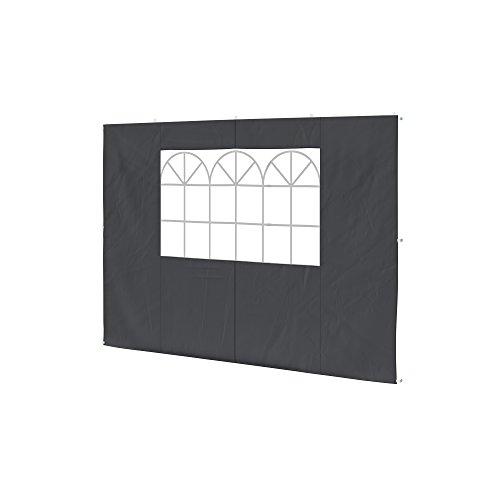 paramondo Seitenwand-Fenster für Steckpavillon anthrazit