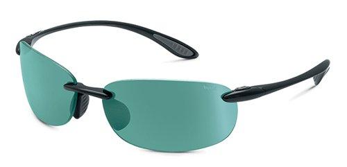 Bolle Sport Kickback Sunglasses (Shiny Black/CompetiVision Gun)