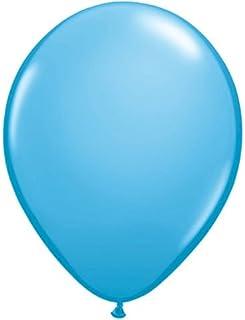 16インチ ペイルブルー 単色丸型バルーン 50入り/袋 クオラテックス単色丸型バルーン