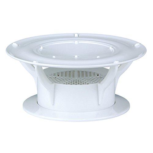 Lippert Components 389381 360 Siphon Roof Vent Cap - White (Gen 2)