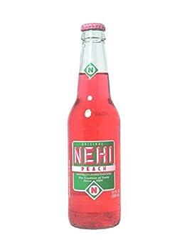 Nehi Peach 12 Oz Glass Bottles  12 Pack