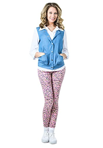 Adult Back to The Future Jennifer Parker Costume, available with or wthout wig, XS to XL