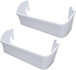 Kitchen Basics 101 2-Pack ER240323001 Electrolux Replacement Refrigerator Door Bin, White