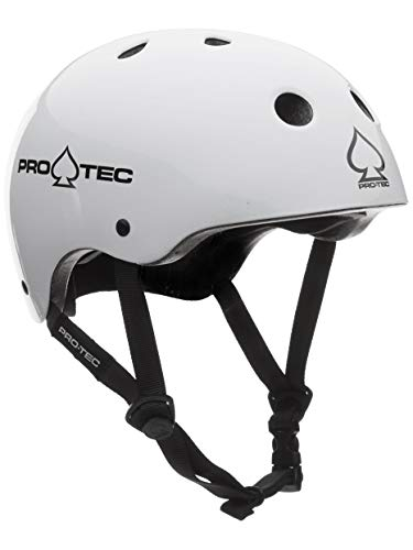 Pro-Tec Helm The Classic, Gloss Weiß, XS (52-54 cm)