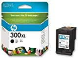 HP 300XL CC641EE pack de 1, haut rendement, cartouche d'encre d'origine, imprimantes HP DeskJet, HP Photosmart et HP ENVY, noir