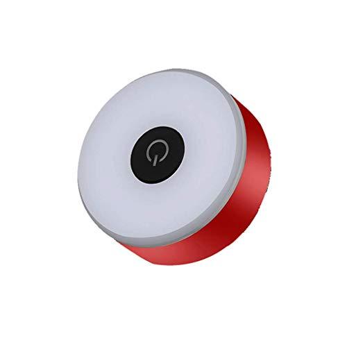 CAIM- Eclairage avant Après Les Feux arrière, témoins Lumineux, Points forts de la Charge USB, Flash Clignotant, Accessoires de matériel d'équitation (Color : Red)