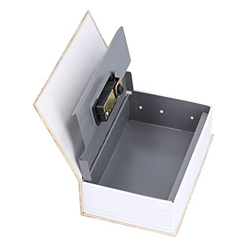 Nunafey Caja de Almacenamiento Segura para Libros, Caja para Ahorrar Dinero, Caja para esconder Dinero, para joyería, para Efectivo, para Tarjeta, para Dinero