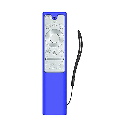 Funda protectora de silicona, compatible con Samsung Smart TV Remote Controller para BN59-01357A Control remoto Suave antideslizante A prueba de golpes Lavable
