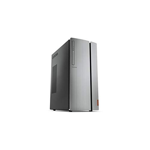 Lenovo IdeaCentre 720-18ICB Gaming Tower 16GB 1TB Intel Core i7-8700, Silver (Renewed)