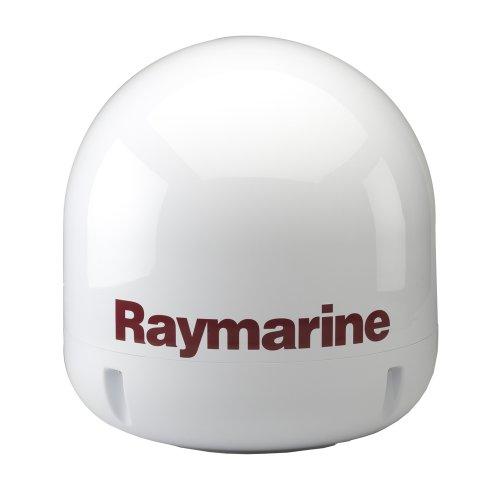 Raymarine 45STV 45 cm Satellite TV Antenna System with Auto Skew for Europe – Black