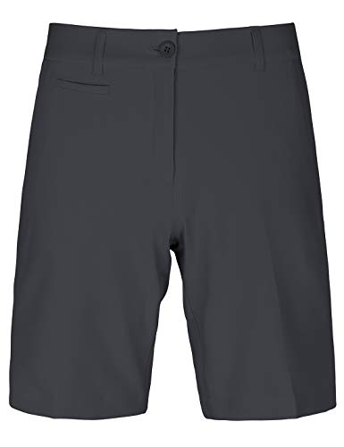 Bakery Golf-Shorts für Damen, Bermuda mit lockerer Passform, Stretch, Chino, knielang, Twill - Schwarz - 36
