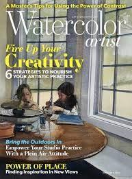 Watercolor Artist Magazine December 2020
