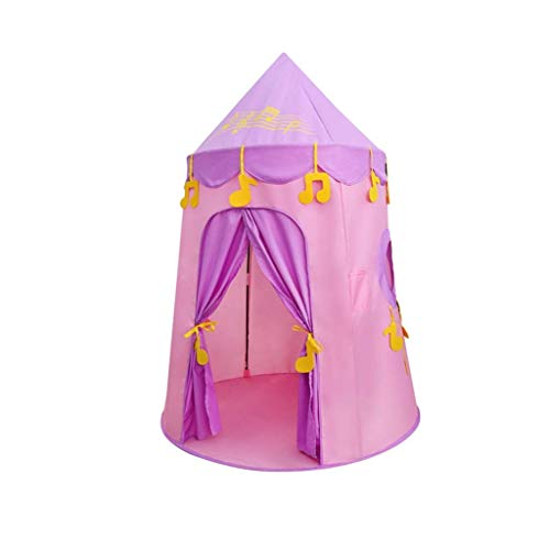 Kids Tent, Tents Four Seasons Play Tent, Girls/Boys Toy Play Tent Lightweight Childrens Yurt Tent - 100 * 150CM - Blue & Pink Kids Teepee (Color : Pink, Size : 100 * 150CM) fashion